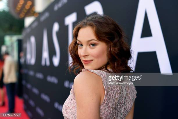Mina Sundwall attends the premiere of 20th Century Fox's Ad Astra at The Cinerama Dome on September 18 2019 in Los Angeles California