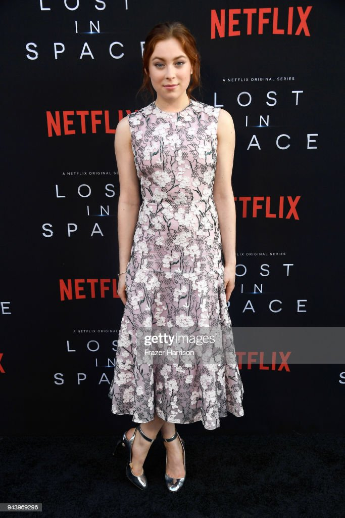 Mina Sundwall attends the premiere of Netflix's 'Lost In Space' Season 1 at The Cinerama Dome on April 9, 2018 in Los Angeles, California.