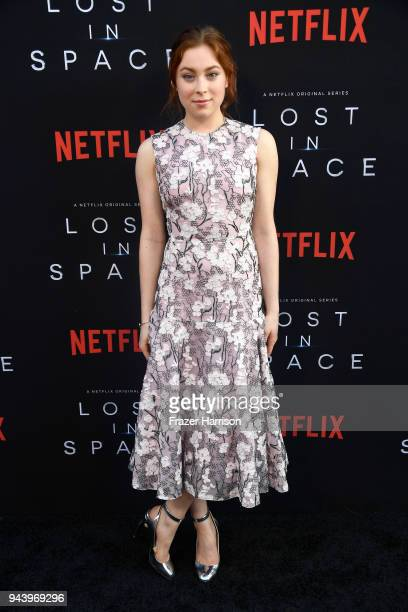 Mina Sundwall attends the premiere of Netflix's Lost In Space Season 1 at The Cinerama Dome on April 9 2018 in Los Angeles California