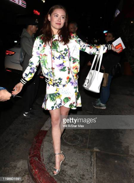 Mina Sundwall is seen on February 4, 2020 in Los Angeles, California.