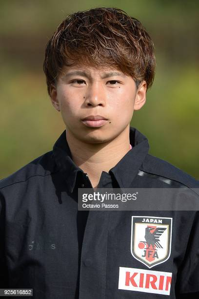 Mina Tanaka of Japan during the Women's Algarve Cup Tournament match between Japan and Holland at Municipal Bellavista on February 28, 2018 in...