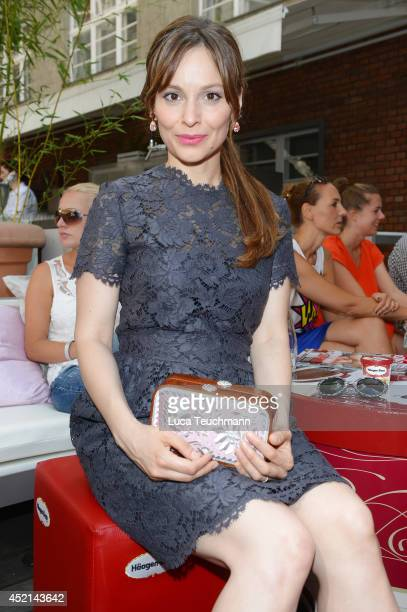 Mina Tander attends the Gala Fashion Brunch at Ellington Hotel on July 11, 2014 in Berlin, Germany.