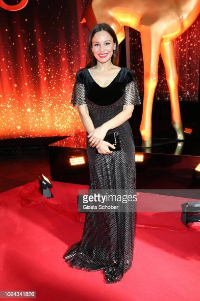 Mina Tander during the Bambi Awards 2018 Arrivals at Stage Theater on November 16 2018 in Berlin Germany