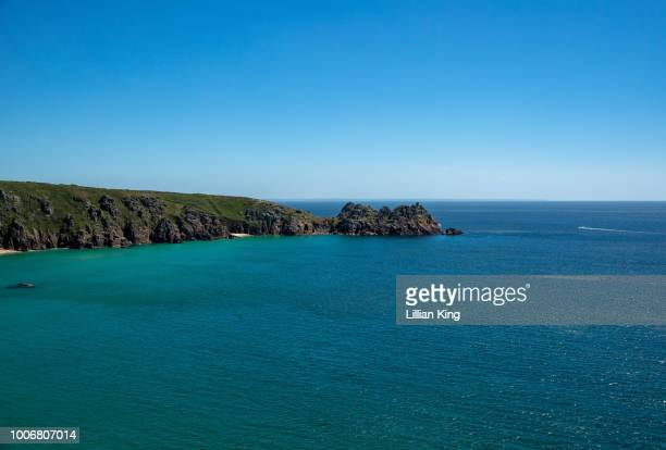 minack theatre cornwall - minack theatre stock pictures, royalty-free photos & images