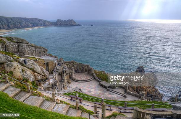 Minack Theatre in Cornwall built into cliff face by Rowena Cade