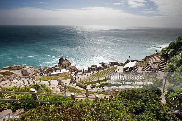 minack theatre - minack theatre stock pictures, royalty-free photos & images