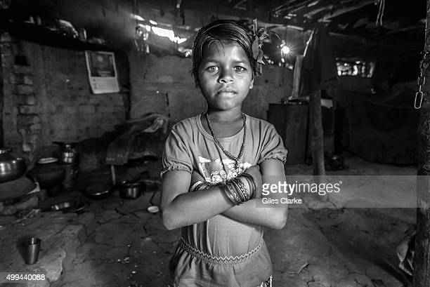Minakshi 10 years old at home in the Oriya Basti neighborhood Minakshi was born to parents contaminated by a carcinogenic and mutagenic water supply...