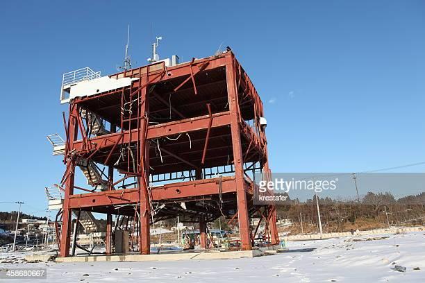 南三陸緊急センター - 津波 ストックフォトと画像