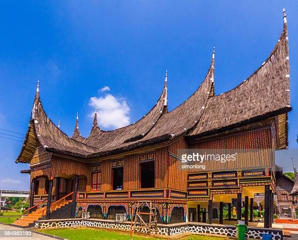minangkabau traditional house indonesia picture