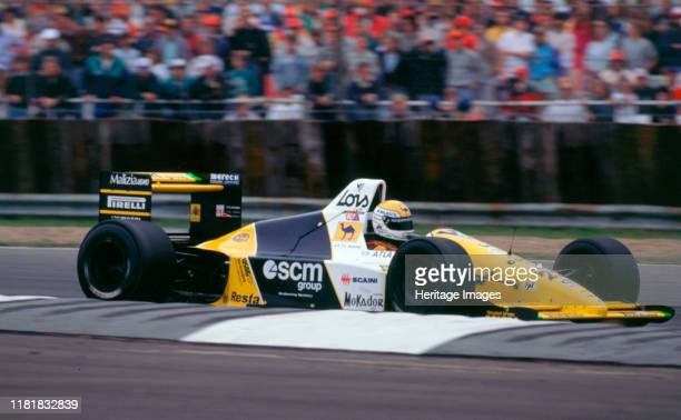 Minardi M189 P Martini, 1989 British Grand Prix. Creator: Unknown.