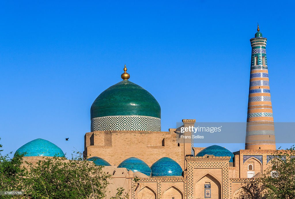 Mosque in Khiva : News Photo