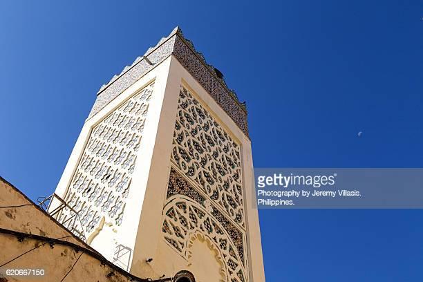 Minaret in Fez Medina