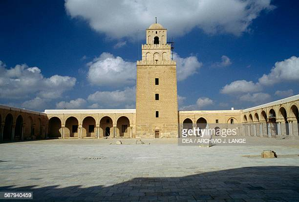 Minaret of the Mosque of 'Uqba or Great Mosque of Kairouan Kairouan Governorate Tunisia 9th century