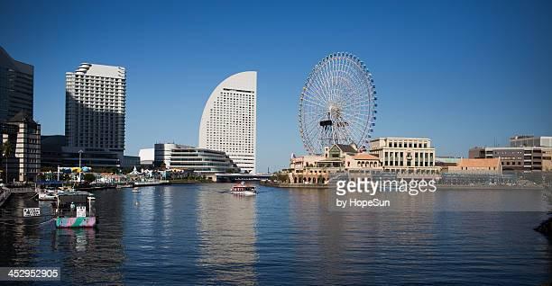 minato mirai - yokohama stock pictures, royalty-free photos & images