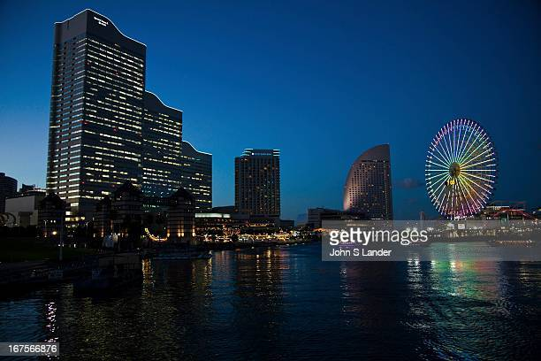Minato Mirai which means Harbor Future is built on reclaimed land in Yokohama Bay and features Landmark Tower Japan's tallest skyscraper the Queen's...