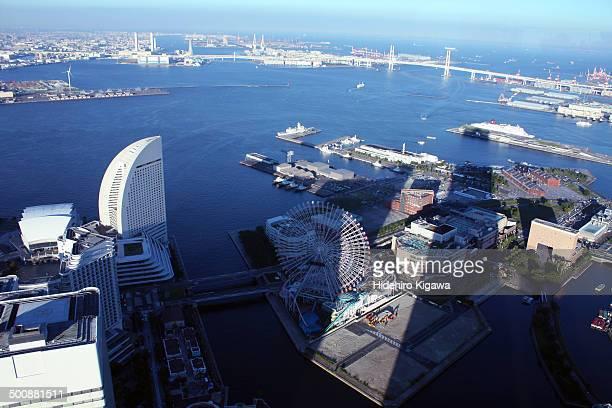 Minatomirai district in Yokohama