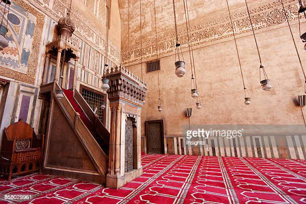 Minbar In Sultan Hassan Mosque And Madrasa Cairo Al Qahirah Egypt