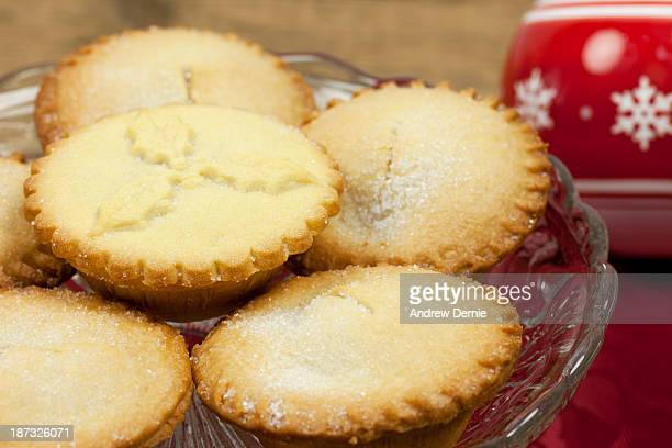 mince pies - andrew dernie stock pictures, royalty-free photos & images