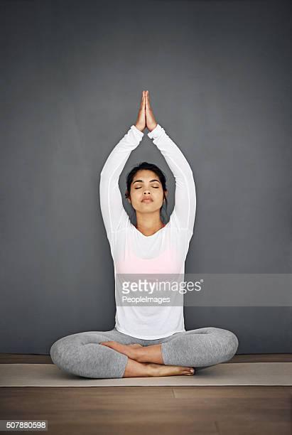 Mind, body and spirit aligned
