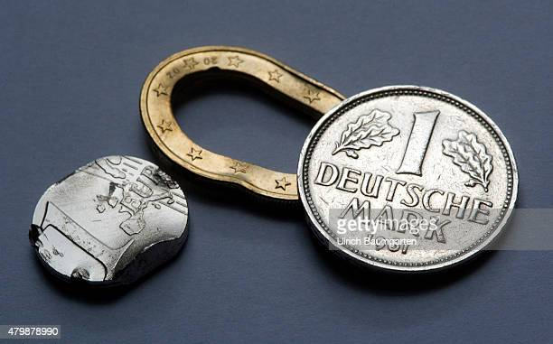 Deutsche Mark Symbol Stock Photos And Pictures Getty Images