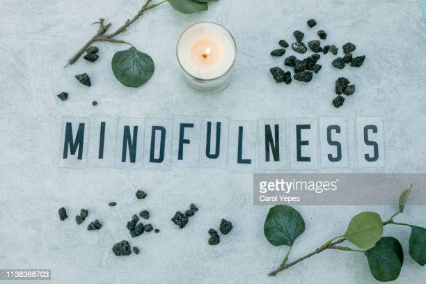 mindfulness concept - mindfulness stock pictures, royalty-free photos & images
