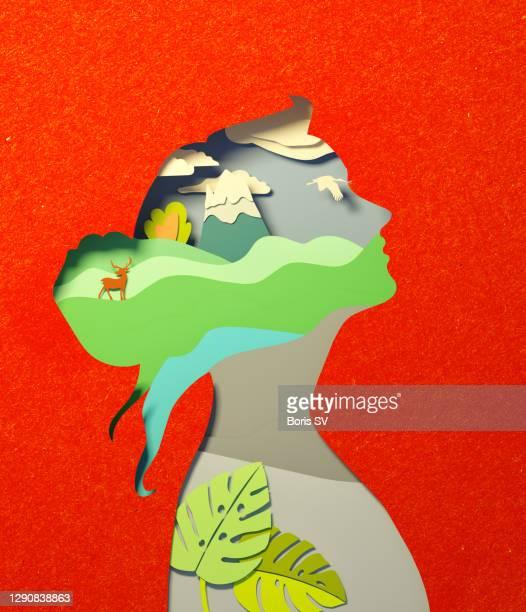 minding nature - umweltschutz stock-fotos und bilder