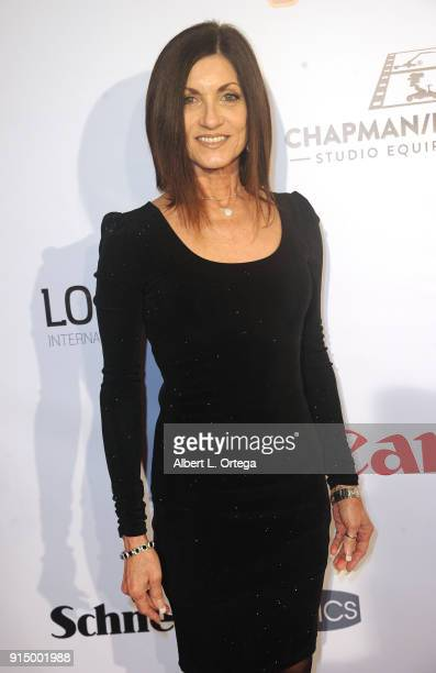Mindy Bee arrives for Society of Camera Operators Lifetime Achievement Awards held at Loews Hollywood Hotel on February 3 2018 in Hollywood California