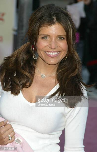 Mindy Burbano attending the premiere of 13 Going On 30 at Mann's Village Westwood CA