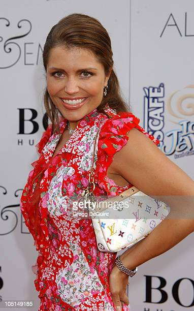 Mindy Burbano during Alex Emma World Premiere Hollywood at Mann's Chinese Theatre in Hollywood California United States