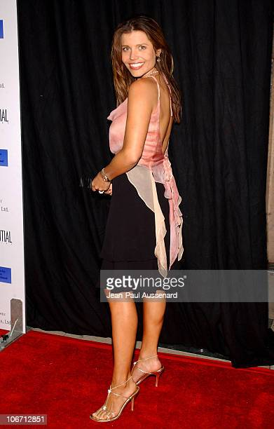 Mindy Burbano during Anne Hathaway Oliver Hudson and Anson Mount Host Fundraiser for Defense for Children International Hosted by LA Confidential at...