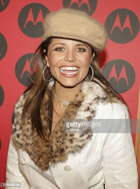 Mindy Burbano during LL Cool J Performs at the Motorola Sixth Anniversary Party to Benefit Toys for Tots Arrivals at Music Box Theatre in Hollywood...