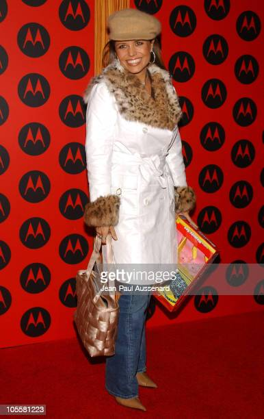 Mindy Burbano during Motorola's 6th Anniversary Party Benefiting Toys for Tots Arrivals at Music Box Theatre in Hollywood California United States