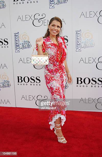 Mindy Burbano during Premiere of Alex Emma at Grauman's Chinese Theater in Hollywood California United States