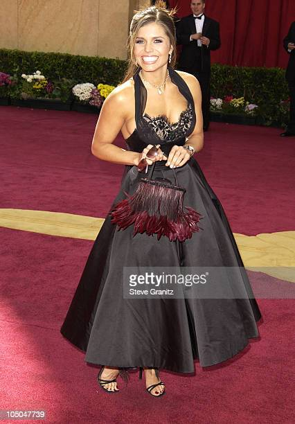 Mindy Burbano during The 75th Annual Academy Awards Arrivals at The Kodak Theater in Hollywood California United States