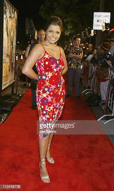 Mindy Burbano during The Big Bounce Los Angeles Premiere Red Carpet at Mann Village Westwood in Westwood California United States