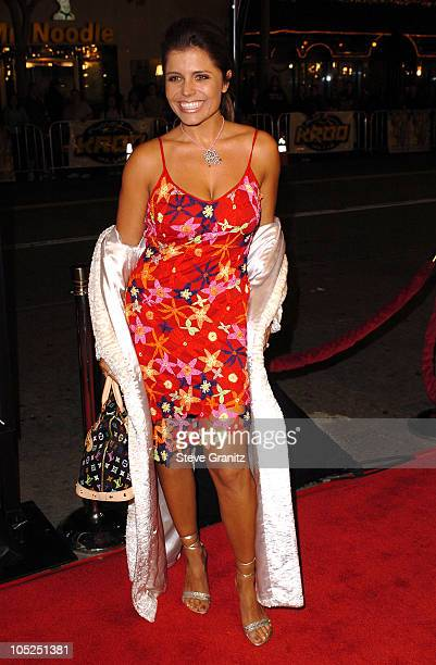 Mindy Burbano during The Big Bounce Premiere at Mann Village Theatre in Westwood California United States