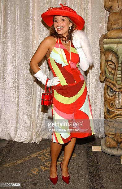 Mindy Burbano during The Real Gilligan's Island Launch Party at Pearl in West Hollywood California United States