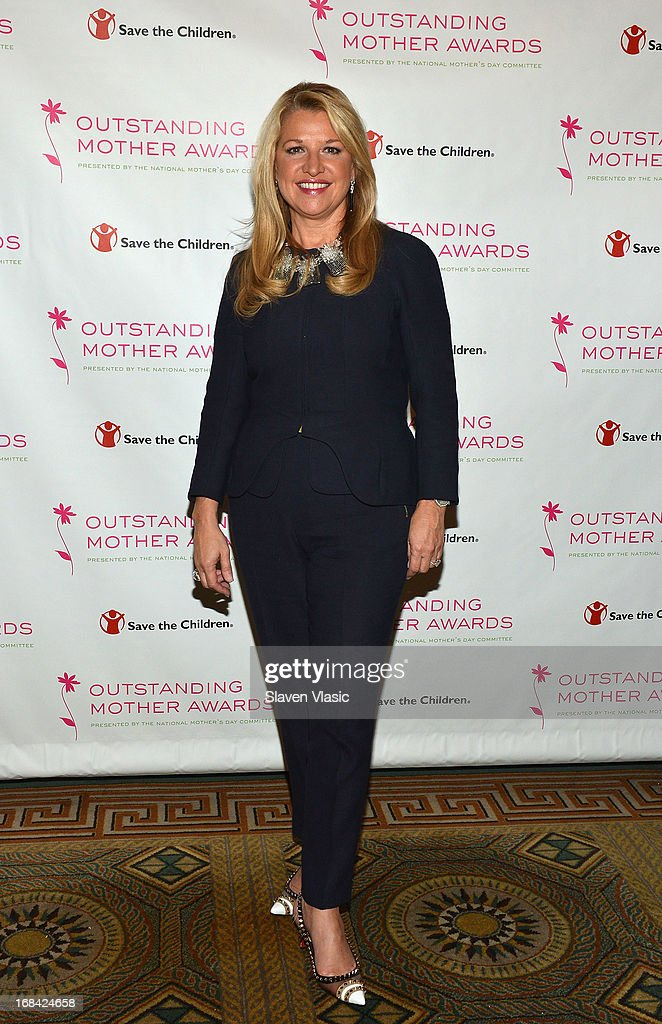 Mindy Grossman, CEO HSN, Inc. and mistress of ceremonies for Outstanding Mother Awards attends the 2013 Outstanding Mother Awards at The Pierre Hotel on May 9, 2013 in New York City.