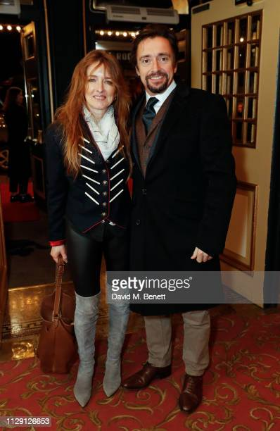 Mindy Hammond and Richard Hammond attend the press night performance of 'Ian McKellen On Stage' a special one man show celebrating his 80th birthday...