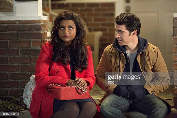 Mindy Kaling and Chris Messina in the 'Caramel Princess Time' episode of THE MINDY PROJECT airing Tuesday Nov 4 2014 on FOX