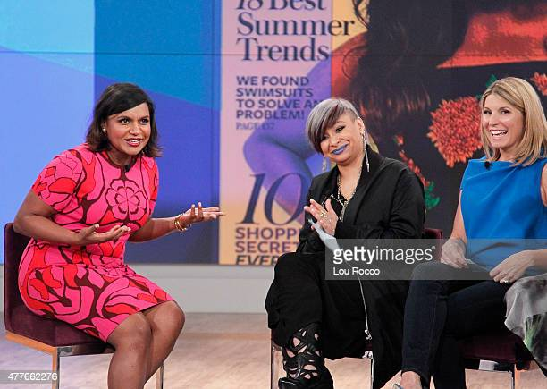 THE VIEW Mindy Kaling and Gretchen Carlson are the guests today Wednesday June 17 2015 on Walt Disney Television via Getty Images's The View The View...