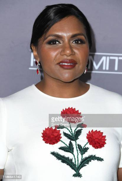 Mindy Kaling Headshot Stock Pictures Royalty Free Photos Images Getty Images