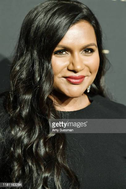 Mindy Kaling arrives at the 2019 ELLE Women In Hollywood at the Beverly Wilshire Four Seasons Hotel on October 14, 2019 in Beverly Hills, California.