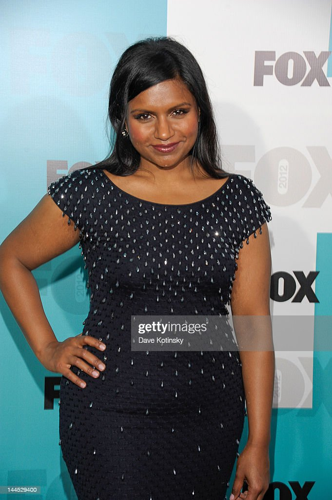 Mindy Kaling attends attends the Fox 2012 Programming Presentation Post-Show Party at Wollman Rink, Central Park on May 14, 2012 in New York City.