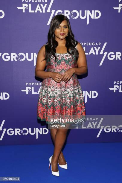 Mindy Kaling attends day 1 of POPSUGAR Play/Ground on June 9 2018 in New York City
