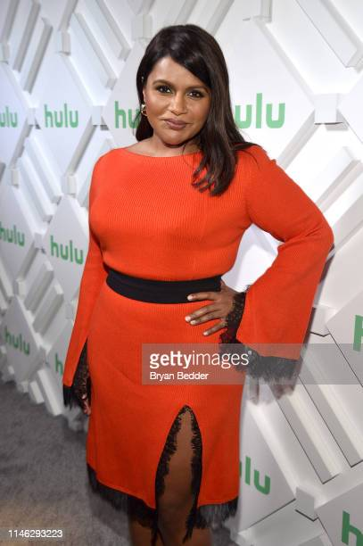 Mindy Kaling attends during the Hulu '19 Brunch at Scarpetta on May 01, 2019 in New York City.
