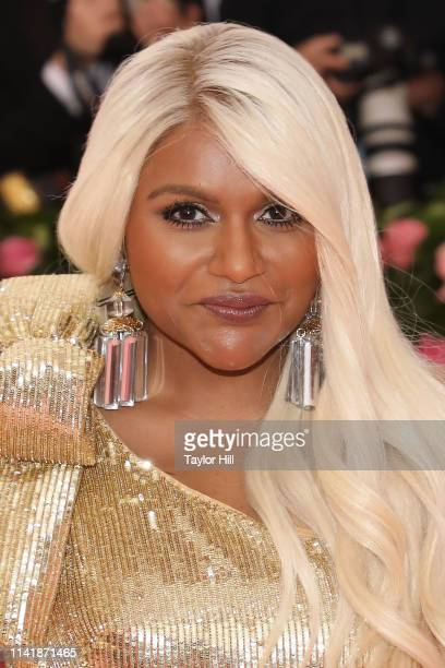 Mindy Kaling attends the 2019 Met Gala celebrating Camp Notes on Fashion at The Metropolitan Museum of Art on May 6 2019 in New York City