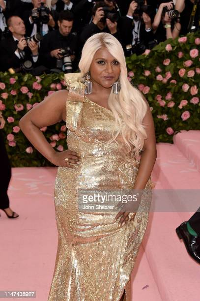 Mindy Kaling attends The 2019 Met Gala Celebrating Camp Notes on Fashion at Metropolitan Museum of Art on May 06 2019 in New York City