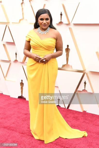 Mindy Kaling attends the 92nd Annual Academy Awards at Hollywood and Highland on February 09 2020 in Hollywood California