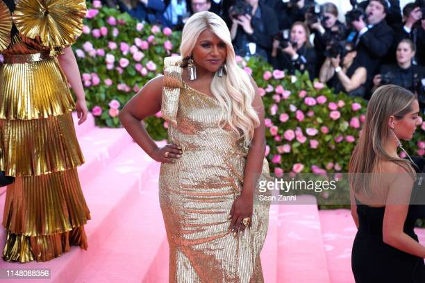 Mindy Kaling attends The Metropolitan Museum Of Art's 2019 Costume Institute Benefit Camp Notes On Fashion at Metropolitan Museum of Art on May 6...